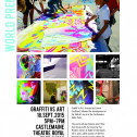 Graffiti V's Art World Premiere!