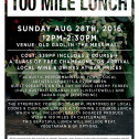 100 Mile Lunch Fundraiser